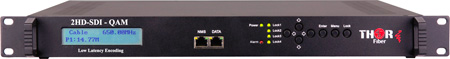 Thor H-2SDI-QAM-IPLL 2Ch HD-SDI to QAM Encoder Modulator w/ Low Latency