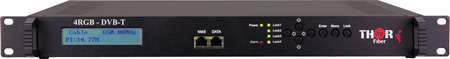 Thor H-4RGB-DVBT-IP 4Ch Component & Analog Video to DVB-T Encoder Modulator