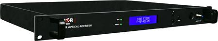 Thor Fiber F-RF-Rx-RM RF Over Fiber Rack Mount Headend Receiver 45-870 MHz