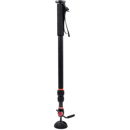 Tiffen/Steadicam AIR-15 Gas Lift Spring Activated Height Adjustable Monopod - Weight Capacity 15 lbs