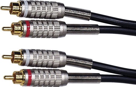 Premium Stereo RCA Audio Cable 25ft