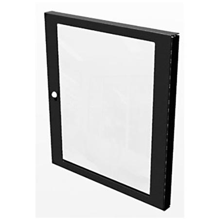 TecNec 12 RU Polycarbonate Plexiglass Door For TN-KDR Series Racks