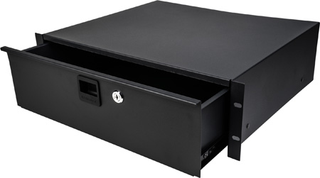 Connectronics TN-RD3 Rack Drawer With Key Lock - 3RU