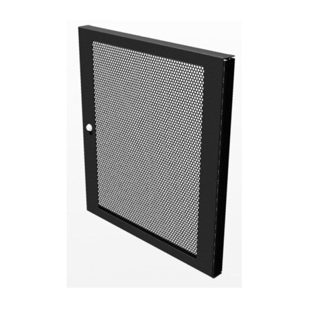 TecNec 12 RU Vented Door For TN-KDR Series Racks