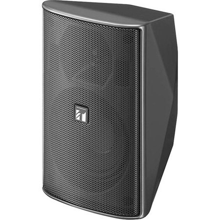 TOA F-1000BT Indoor 70.7/100V 15-Watt 2-Way Speaker - Black