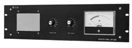 TOA MP-032B Monitor Panel - 10 Channel 25/50/70.7/100 V Black 3U