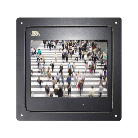 ToteVision LED-1002HDLX 9.7 Inch Flush Mount Monitor with No Front Controls