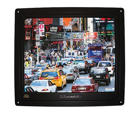 ToteVision LED-1709HDL 17 Inch LED-Backlit 1080I/P HDMI LCD Flush-Mount Monitor