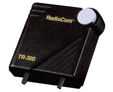 Telex TR-300-711A Beltpack VHF Wireless Transceiver w/A4M Headset  B-Stock (cosmetic flaws only)