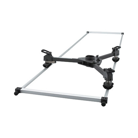 Libec TR-320 Tracking Rail Dolly system Carrying case included