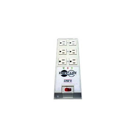 Tripplite TR-6 6-Outlet Super Surge Alert Protector - 2420 Joules - 6 Foot Cord
