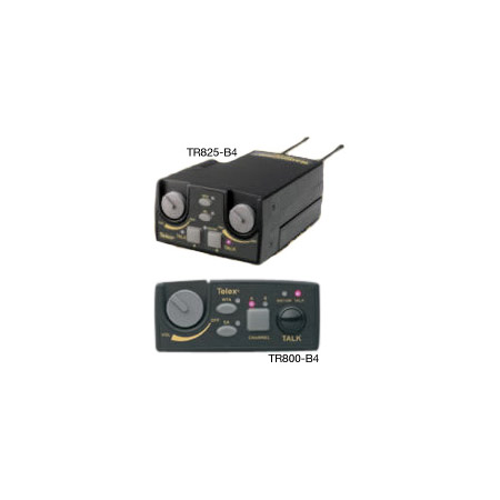 Telex TR825-B4 UHF 2 Channel Binaural Transceiver