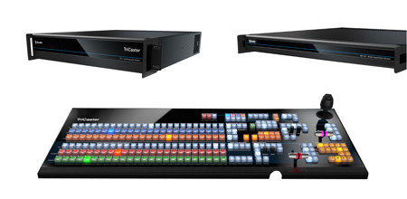 Newtek TriCaster TC1 Deluxe Bundle Including TC1 Live Production System with NC1 I/O Module and TC1LP Control Panel