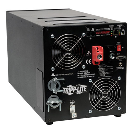 Tripp Lite APSX6048VRNET International Inverter Charger 6000W 48V DC 208V/230V AC 23/90A Hardwire