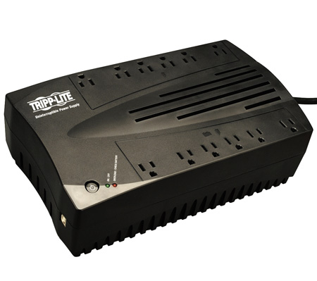 Tripp Lite AVR750U 750VA 450W UPS Desktop Battery Back Up AVR Compact 120V USB RJ11
