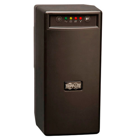 Tripp Lite BC600SINE 600VA 375W UPS Battery Back Up Pure Sine Wave PFC Tower 120V USB