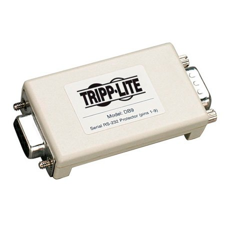Tripp Lite DB9 Network In-Line Dataline Surge Protector 120V / 230V 9-PIN DB9
