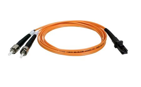 Tripp Lite N308-003 Duplex Multimode 62.5/125 Fiber Patch Cable (MTRJ/ST) 3 Feet
