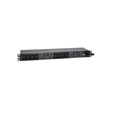 Tripp Lite PDUH32HV 7.4kW Single-Phase Basic PDU 230V Outlets (10 C13) IEC309 32A Blue 12 Foot Cord 1U Rackmount