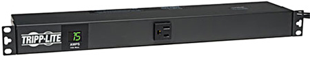 Tripp Lite PDUMH15-6 1.4kW Single-Phase Metered PDU 120V Outlets (13 5-15R) 5-15P 100-127V input 6 Foot Cord Rackmount