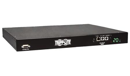Tripp Lite PDUMH20HVATNET PDU Switched ATS 200-240V 16/20A 8 C13 2 C19 C20 Horizontal 1URM