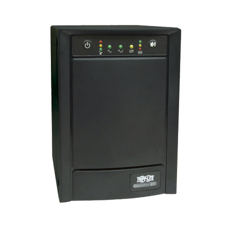 Tripp Lite SMART750SLT 750VA 500W UPS Smart Tower AVR 100/110/120V USB DB9 SNMP RJ45