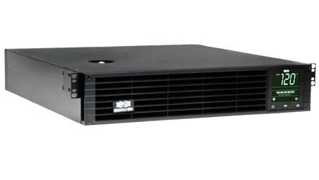 Tripp Lite SMART3000RM2UN 3000VA 2250W UPS Smart LCD Rackmount AVR 120V USB DB9 SNMP 2URM