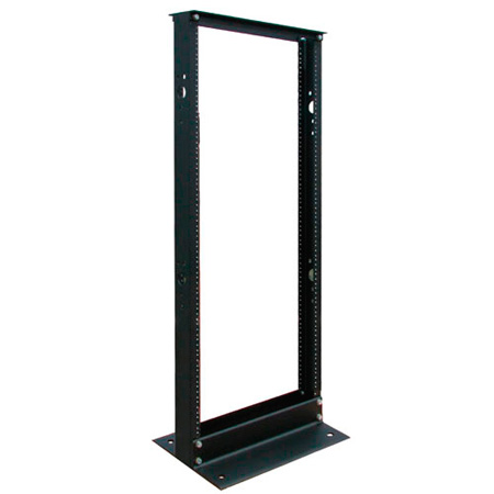 Tripp Lite SR2POST25 25U 2-Post Open Frame Rack Threaded Holes 800lb Capacity
