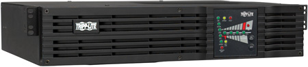 Tripp Lite SU750RTXL2UN SmartOnline 120V 750VA 600W Double-Conversion UPS 2U Rack/Tower Extended Run