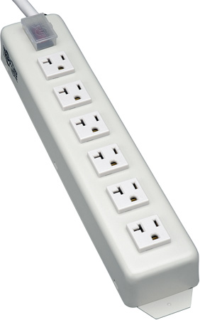 Tripp Lite TLM615NC20 Power It 6-Outlet Power Strip 15 Foot Cord 5-20P Plug Metal Housing