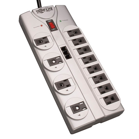 Tripp Lite TLP1208TEL 12 Outlet Protect It! Surge Suppressor