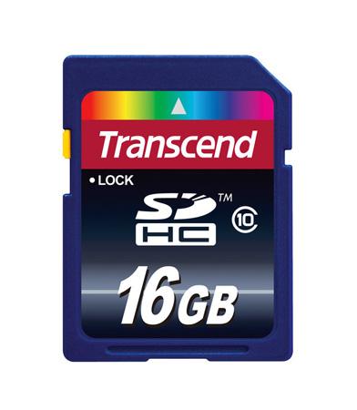 Transcend TS16GSDHC10 16 GB Secure Digital High Capacity (SDHC)