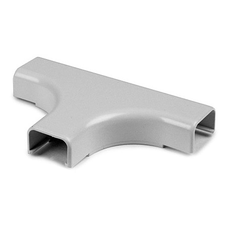 TSR3W-21-1 1 3/4 Inch White Cable Raceway Tee Cover 10-Pack for TSR3W-6A/8A