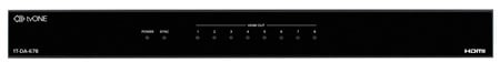 TV One 1T-DA-678 1x8 HDMI v1.4 Digital Signal Distribution Amplifier