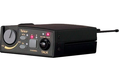 Telex TR-800-H3 UHF Two-Channel Wireless Beltpack - Band H3