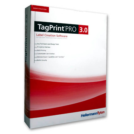 HellermannTyton 556-00035 Tagprint Pro 3.0 Software