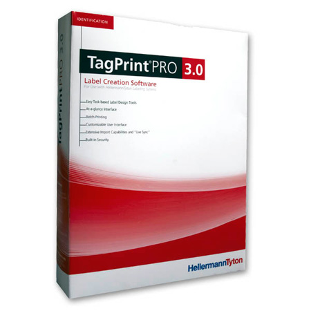 HellermannTyton 556-00038 Tagprint Pro 3.0 Label Printing Software -10 license