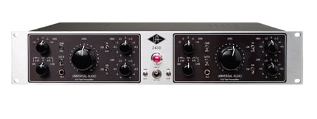 Universal Audio 2-610S Dual-Channel Tube Mic/Inst Pre-EQ Silverface