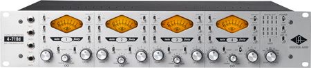 Universal Audio 4-710d  Four-Channel Twin-Finity Tone-Blending Mic Pre
