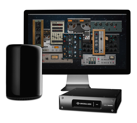 Universal Audio TBSATOUL2D UAD-2 Satellite Thunderbolt Bundle - OCTO Ultimate 3