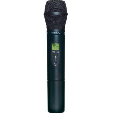 Shure ULX2/87-G3 Handheld Transmitter with SM87 - G3 470 - 505 MHz