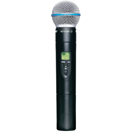 Shure ULX2/BETA58-J1 Handheld Transmitter with Beta58 Microphone - J1 554 - 590 MHz