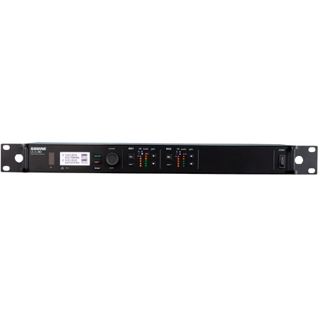Shure ULXD4D Dual Digital Wireless Receiver - G50 - (470 - 534 MHz)