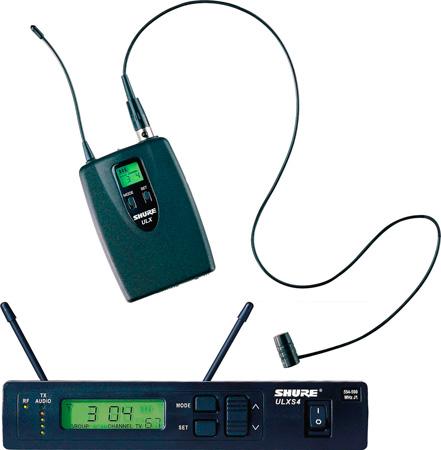 Shure Cardioid Lav. Wireless WL185 - J1 - (554.025 – 589.975 MHz)