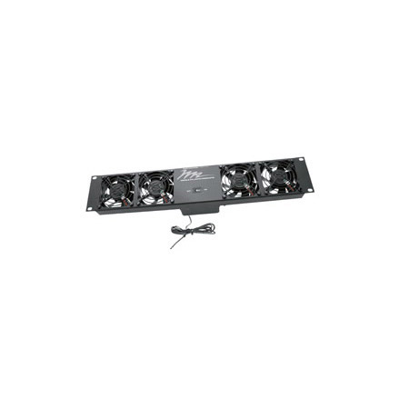 Middle Atlantic UQFP-4RT Economical Ultra Quiet Fan Panel