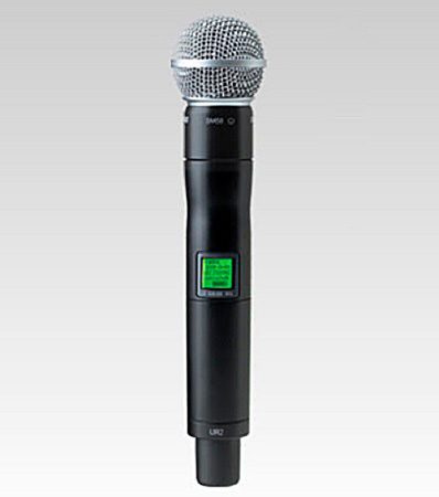 Shure Handheld Transmitter with SM58 Microphone 518-578MHz
