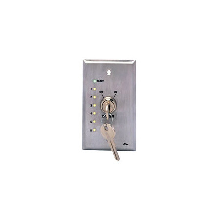 Mid-Atlantic USC-KL Remote Wallplate Keyswitch w/LED Status Indicators