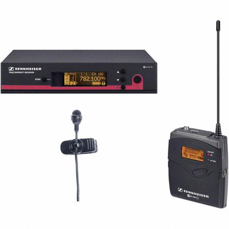 Sennheiser SK100 G3 TX - ME4 Cardioid Lav System- EM100 G3RX - GA3 RM (566-608MHz)