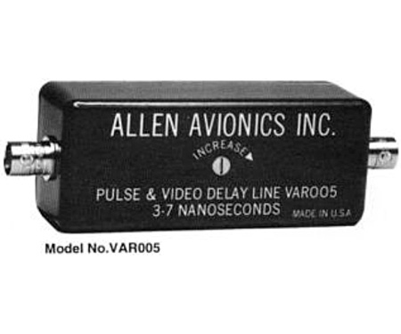 Allen Avionics Switchable Video Delay Line 0 to 256 Nanoseconds with Fine Adjust