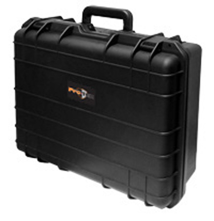 Protek Case VC-22 21x14x9 Inch Water Resistant Case w/Trolley (Black)